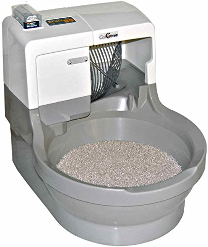 Automatic Self Washing and Flushing Cat Box by CatGenie