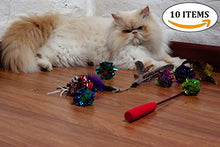 Retractable Cat Teaser Wand with Non-Toxic Materials