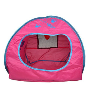 Pop-Up Play Cube Tent for Cats