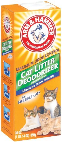 Cat Litter Deodorizer with Baking Soda by ARM & Hammer