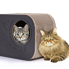 Cat Scratcher Lounge with Rounded Corners