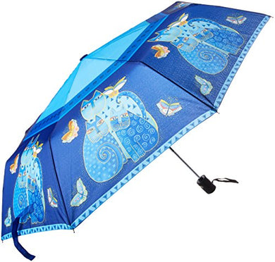 Cat Friends with Bright Color Compact Umbrella
