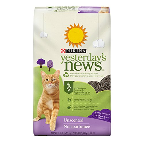 Unscented Softer Texture Cat Litter by Purina, 13.2 lb. Bag