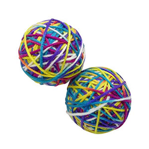 Yarn Cat Toys With Rattle