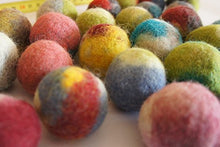 Felted Handmade Wool Balls for Cats