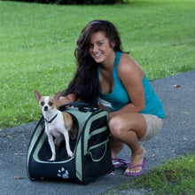 Pet Gear Five Products in One Backpack for Cats and Dogs