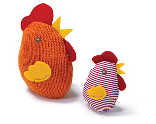 Chicken & Chick Catnip Cat Toys