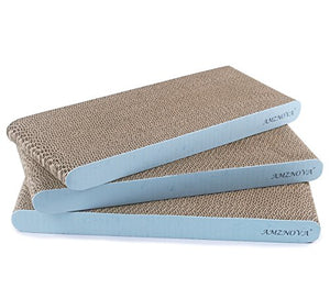 Baby Blue Cardboard Scratching Pad