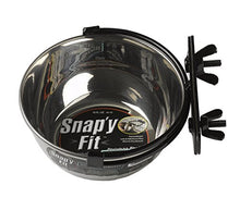 Stainless Steel Food Bowl by Snap'y Fit
