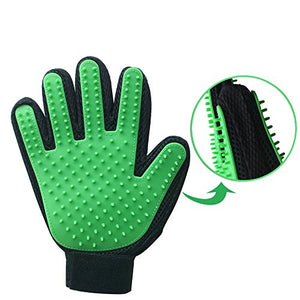 Deshedding Glove for Pets, Green