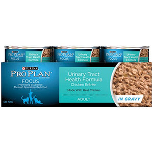 Purina Pro Plan Focus Urinary Tract Health Formula, Chicken In Gravy