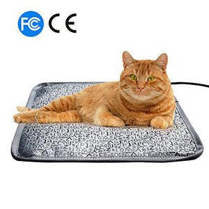 Letter-Themed Heating Mat for Cats