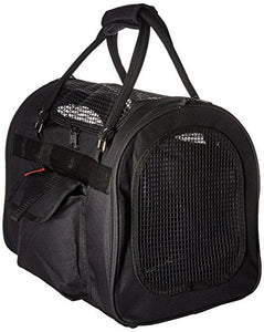 Black Soft Sided Pet Carrier by Prefer