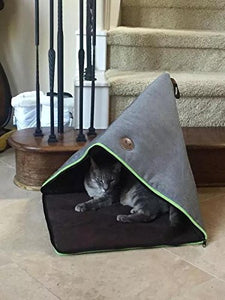 Stylish Look Cat Cave in Triangle Shape