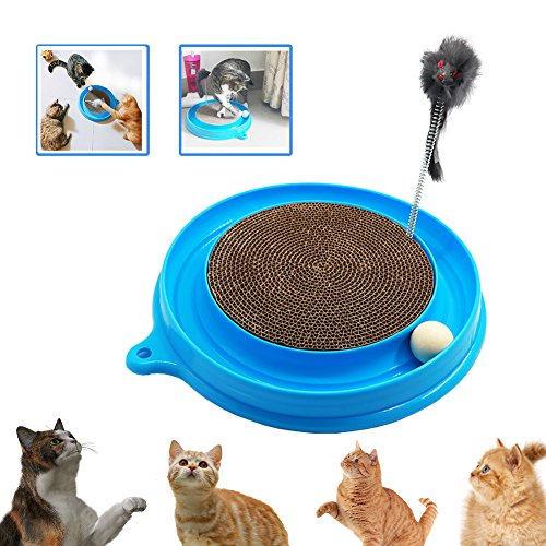 Turbo Scratcher Play Cat Toy with Ball