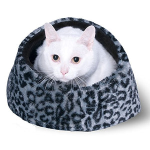 Grey or Beige Cat Cave House