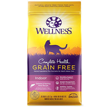 Wellness Grain Free Dry Cat Food, Salmon & Herring Meal Recipe