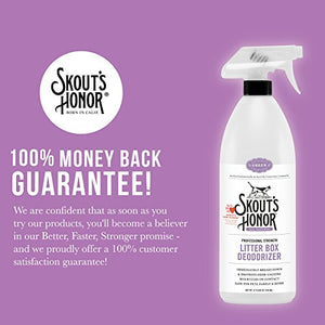 Skout's Honor Professional Strength, All-Natural Cat Litter Box Deodorizer