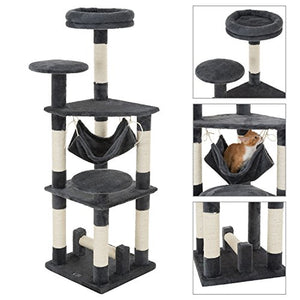 Ollieroo Condo Furniture Scratching Cat Tree Tower