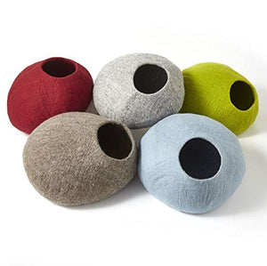 100 Percent Wool Large Size Cat Cave