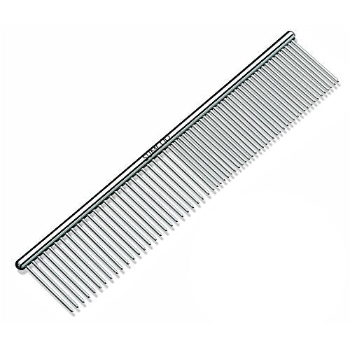 Stainless Steel Pet Shedding and Grooming Comb by SUMCOO