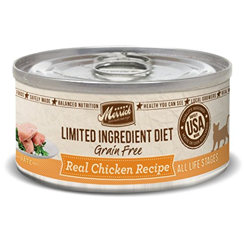 Limited Ingredient Diet Chicken Canned Cat Food by Merrick