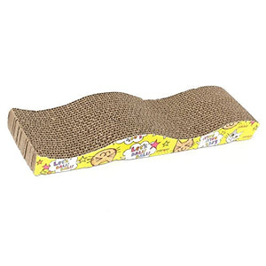Wave Design Scratching Board Pad