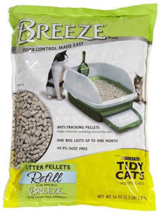 Tidy Cats Breeze Cat Litter Pellets, Superior Odor Protection