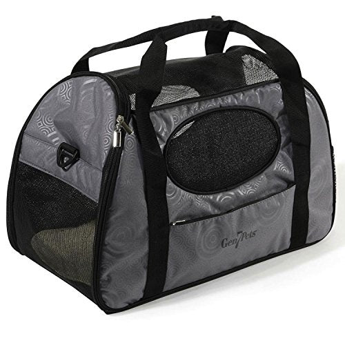 Large Zippered Pet Carrier for Cats