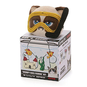 Grumpy Cat Box O Grump Fishing Plush by Gund