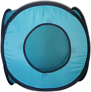 Cat Cube Pop Up Tent with 3 peepholes