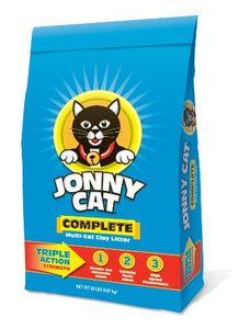 Multi-Cat Clay Litter by JONNY CAT, Triple Action Strength