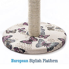 Butterfly Themed Cat Scratching Post