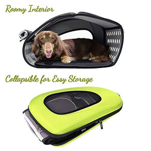 Multifunctional Pet Travel Carrier with Wheels