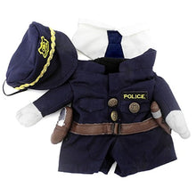 Small Pet Policeman Costume, Policeman