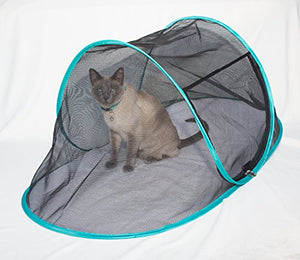 "RV Cat Enclosure Tent for Indoor Cats, 43"" x 23"" x 18"" inch"