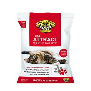 Dr. Elsey's Cat Attract Training Litter, 99.5% Dust Free