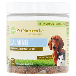 Pet Naturals of Vermont - Calming Chews For Dogs and Cats