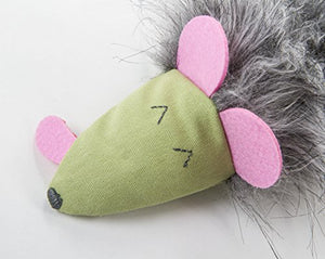 Eco-Friendly Kicker Plush Cat Toy