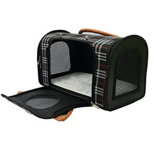 Small Dog and Cat Travel Carrier Hand Bag with 3 Doors