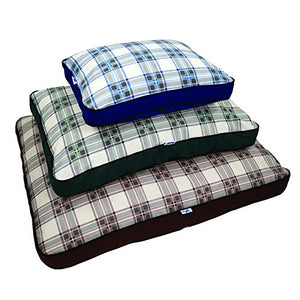 Brown Double-Sided Pet Bed
