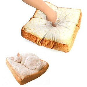 Fun Bread Design Cat Bed