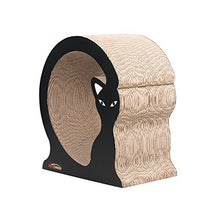 Cat Shape Scratcher Lounger with Catnip
