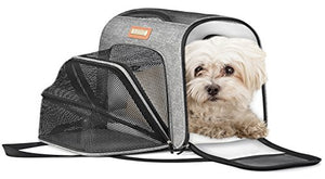 Expandable Pet Carrier with Soft Portable Sides