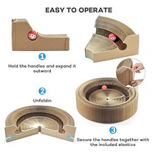 Cardboard Scratching Bowl for Kitties