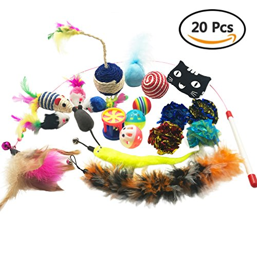 Assorted Pack of Toys, 20 Pieces