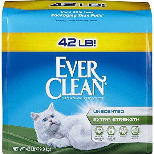 Extra Strength Cat Litter by Ever Clean, 42 Pound Bag