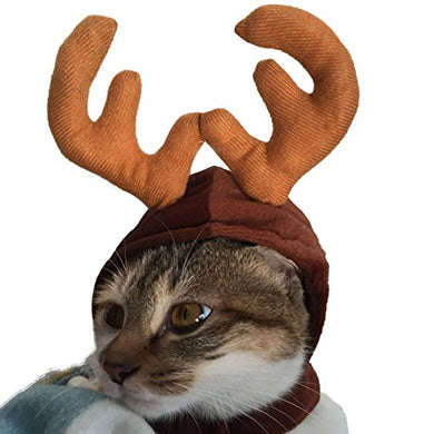 BBEART Cat HatHalloween Christmas Hat Cat Puppy Deer Horn Hat Holiday Costume Christmas Pet  sc 1 st  Catsegory.com & Halloween Costumes for Cats | Catsegory.com