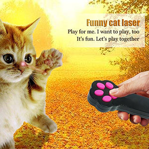 Laser exercising pointer for Cats