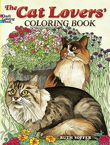 The Cat Lovers Coloring Book, Dover Publications, 32 p.